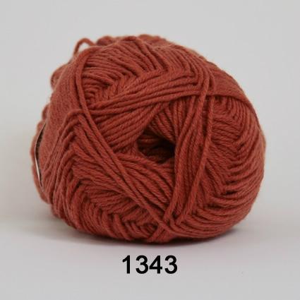 Image of Hjertegarn All Seasons Garn - Merino & Bomuldsgarn - fv 1343 Rust