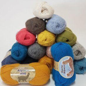 Hjertegarn Alpaca 400 - Blødt garn
