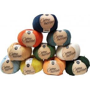 Mayflower Cotton Merino - Garn der kan maskinvaskes