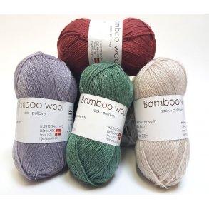 Bamboo Wool - Uldgarn med bambus der ikke kradser