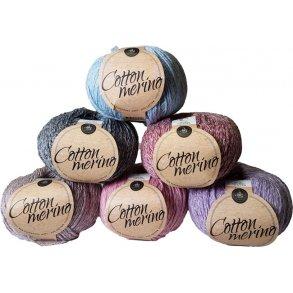 Mayflower Cotton Merino Melange garn - Merinould & Bomuld