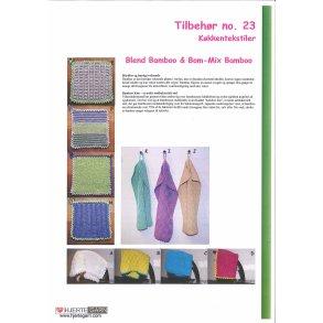 Opskrift til karklude og håndklæder