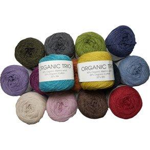 Organic Trio - Garn med silke