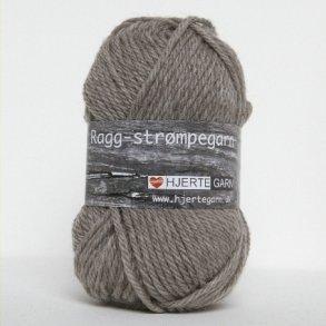 Ragg Strømpegarn - Uldgarn Hjertegarn