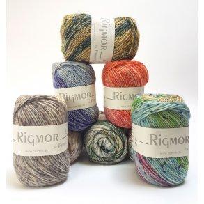 Rigmor by Permin - Flerfarvet superwash uldgarn på tilbud