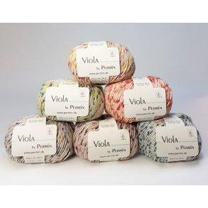 Viola Permin - Multifarvet bomuldsgarn