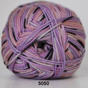 Hjertegarn Aloa Sockwool flerfarvet strømpegarn