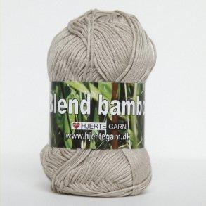 Blend Bamboo - Kradsefri bomuldsgarn - Kløfri bambusgarn