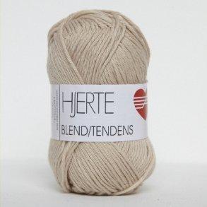 Hjertegarn Blend Tendens - Bomuldsgarn med Akrylgarn