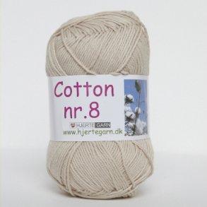 Hjertegarn Cotton nr 8 Bomuldsgarn
