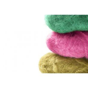 Garn med silke gør dit håndarbejde lidt mere lækkert