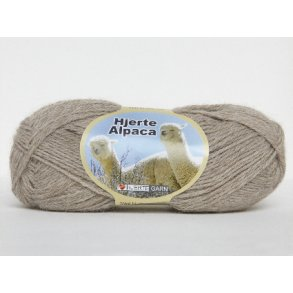 Hjerte Alpaca – den blødeste uld til babystrik