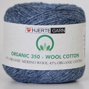 Hjertegarn Organic 350 - Økologisk Merino Uld Garn