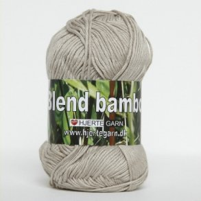 Blend Bamboo - Bambusgarn - Bomuldsgarn