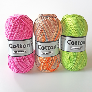 Lammy Yarn Cotton 8/4 Bomuldsgarn Flerfarvet