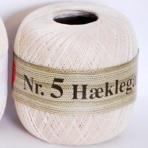 Hjerte nr 5 - Hæklegarn - Bomuldsgarn