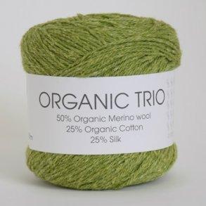 Organic Trio/Klø og kradsefri økologisk uldgarn