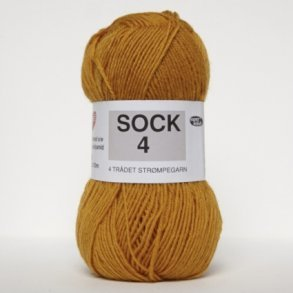 Sock 4- 75% Uld/ 25% Polyamid superwash