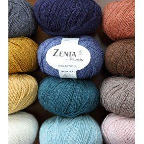 Zenta - Uldgarn med silkegarn - Permingarn