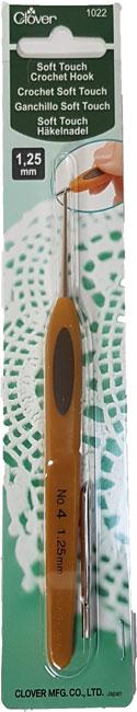 Image of Clover Soft Touch Hæklenål 1,25 mm