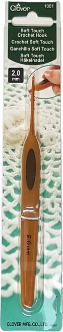 Image of Clover Soft Touch Hæklenål 2,00 mm - 1001