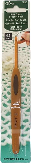 Image of Clover Soft Touch Hæklenål 4,5 mm - 1032