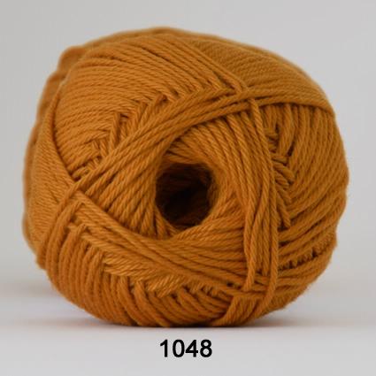 Image of Cotton nr. 8- Bomuldsgarn - Hæklegarn - fv 1048 Karry Gul
