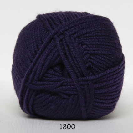 Image of Hjertegarn Extrafine Merino 150 Garn - fv 1800 Lilla