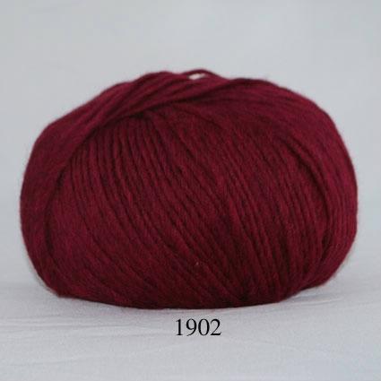 Image of Incawool - Uldgarn - fv 1902 Vin rød