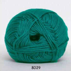 Image of Hjertegarn Diamond Cotton - merceriseret bomuld - 8029 Jade Grøn