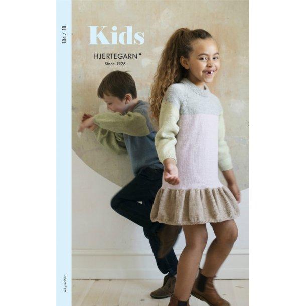 Strikkehæfte Børn nr 184 Kids