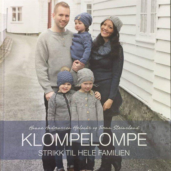 Image of Klompelompe strik til hele familien