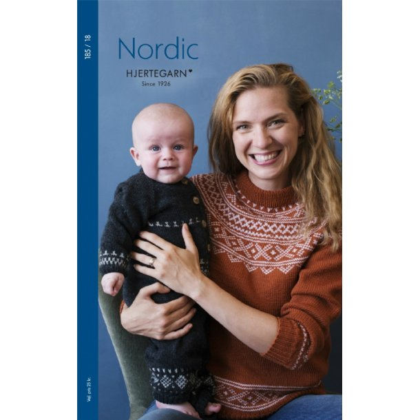 Strikkehæfte nr 185 Nordic