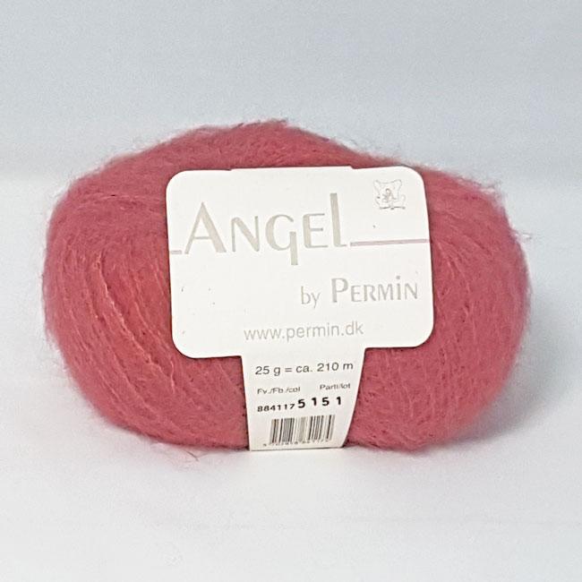 Image of Angel Permin - Mohair og silkegarn - 884117 Mørk Gammel Rosa