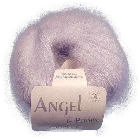 Image of Angel Permin - Mohair og silkegarn - 884142 Lys Grå