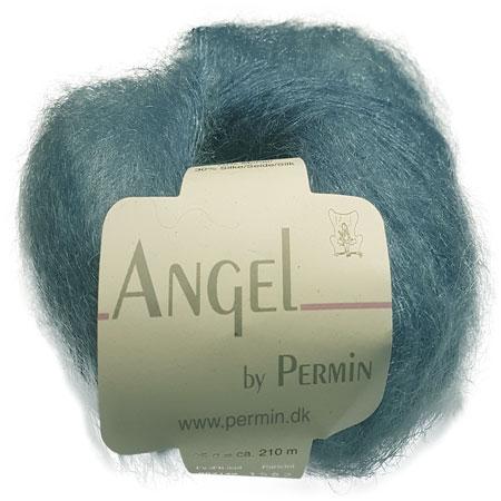 Image of Angel Permin - Mohair og silkegarn - 884149 Due Blå