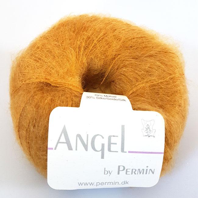 Image of Angel Permin - Mohair og silkegarn - 884126 Karry Gul