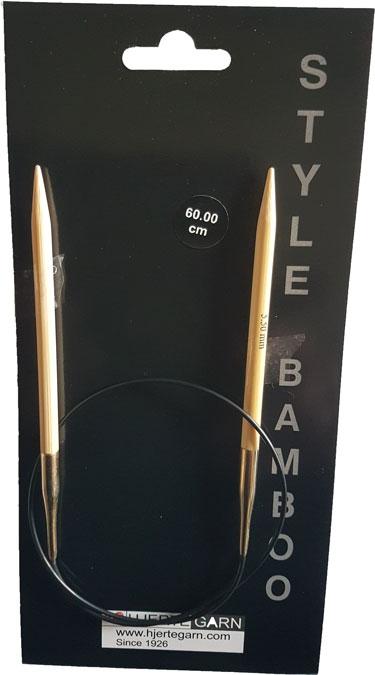 Billede af Bambus rundpind - 60 cm 8,0 mm